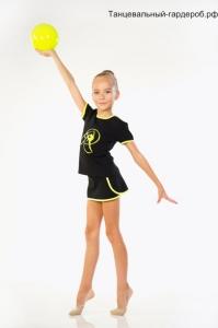 Футболка для художественной гимнастики и танцев