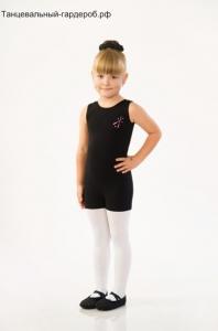 Комбинезон короткий для гимнастики и танцев