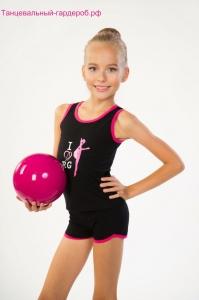 Майка для художественной гимнастики и танцев